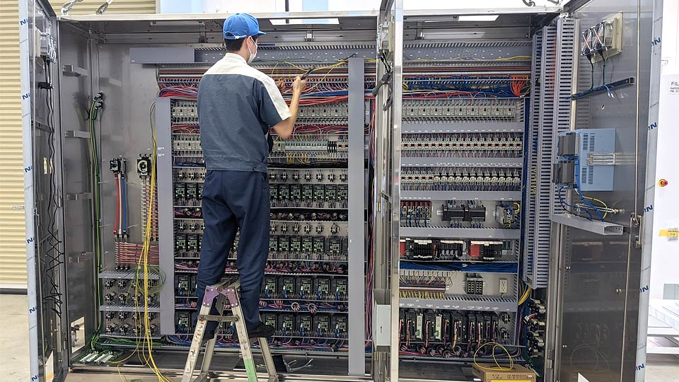 Automatic Controle Panel Production System   Products and
