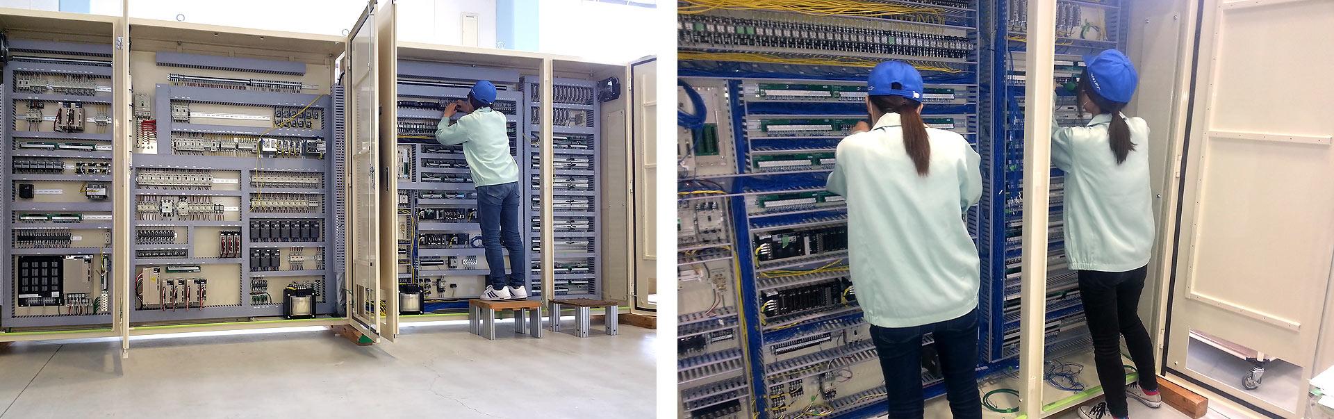 次世代型制御盤設計・製作|事業紹介|ライオンパワー株式会社